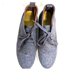 Old Navy Fashion Heather Grey Sneakers Sz 10